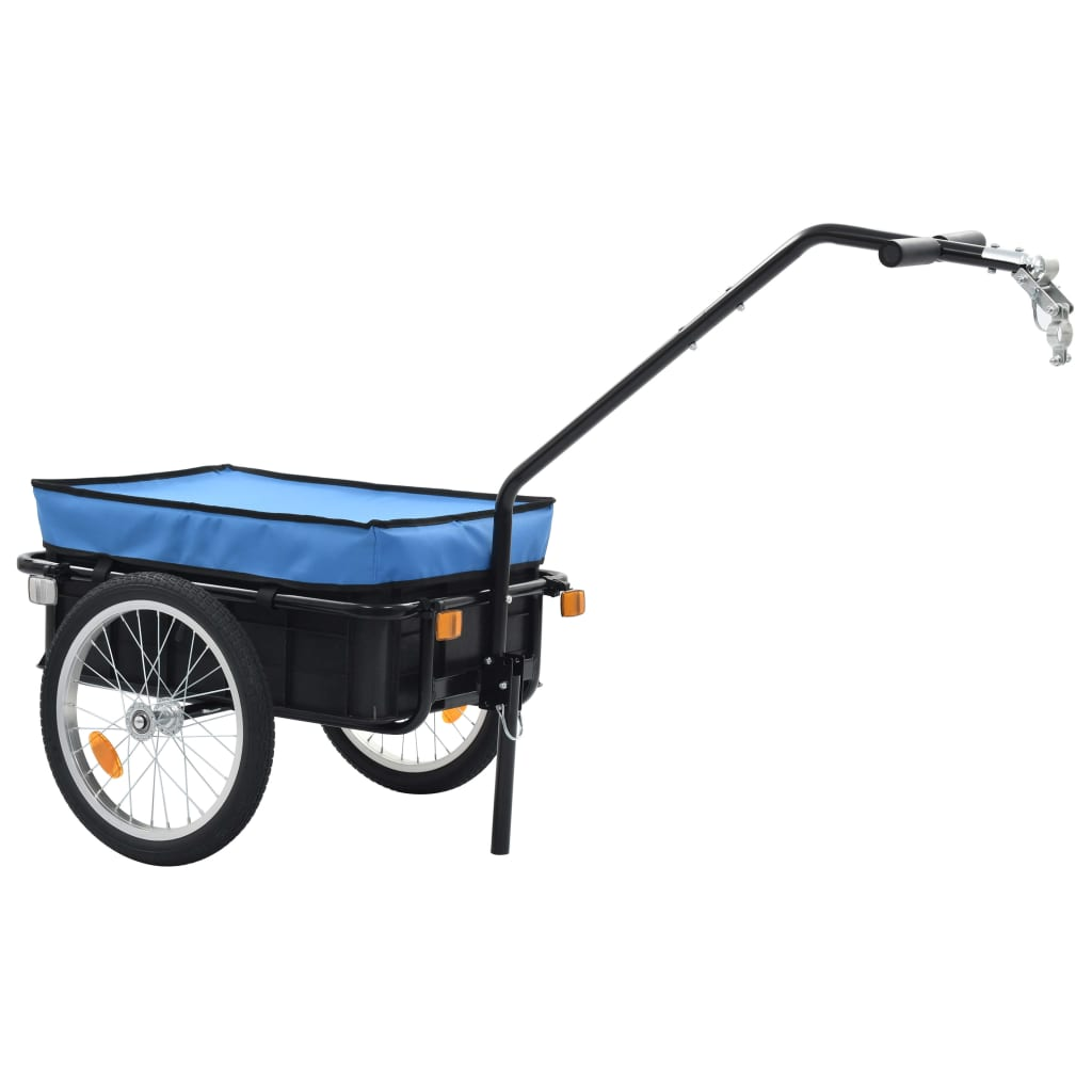 Bike Cargo Trailer/Hand Wagon 155x61x83 cm Steel Blue