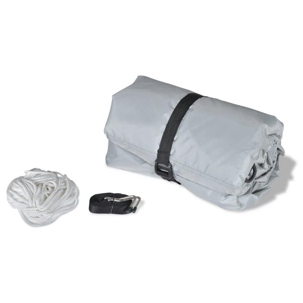 Boat Cover Grey Length 427-488 cm Width 173 cm