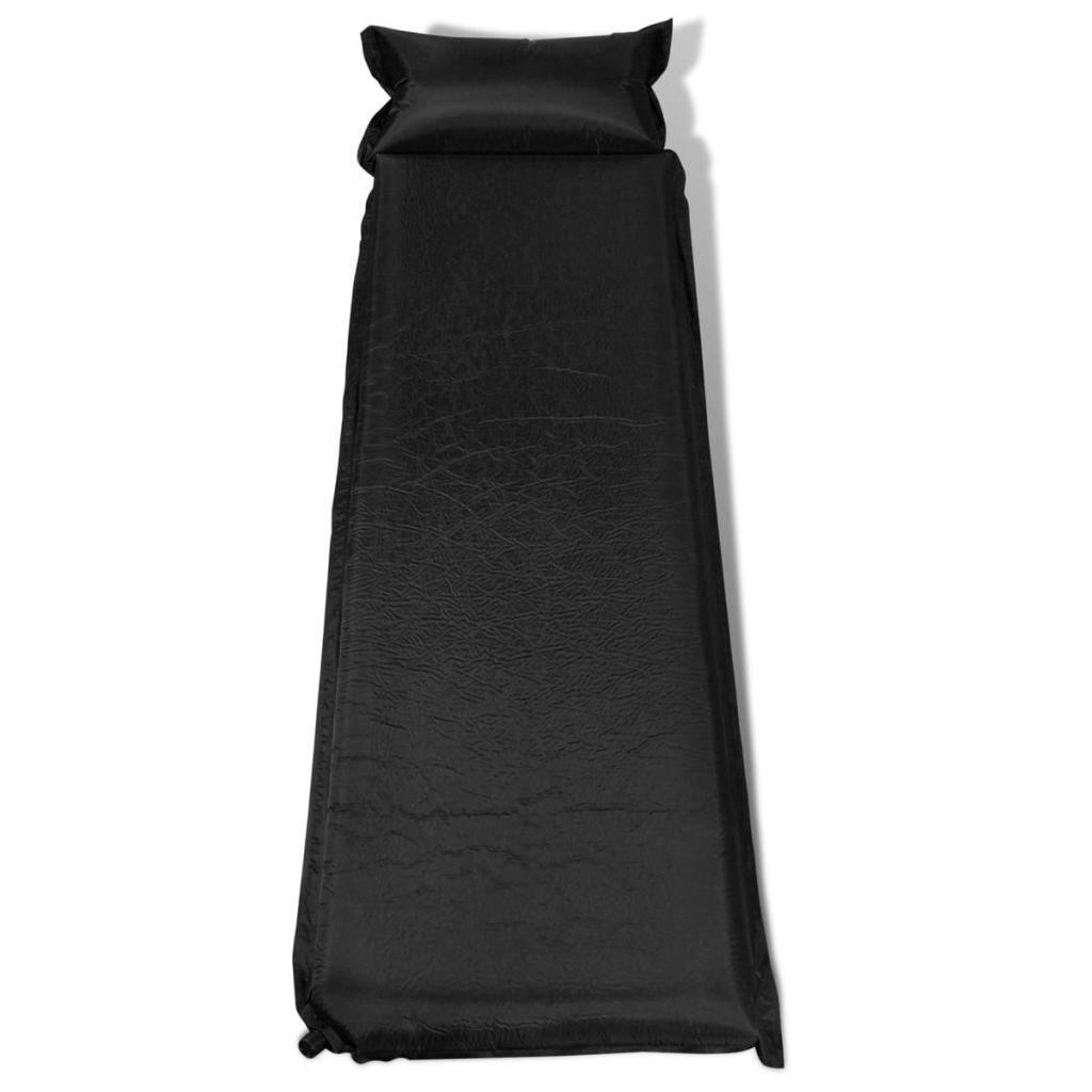 Air Mattress 10 x 66 x 200 CM Black