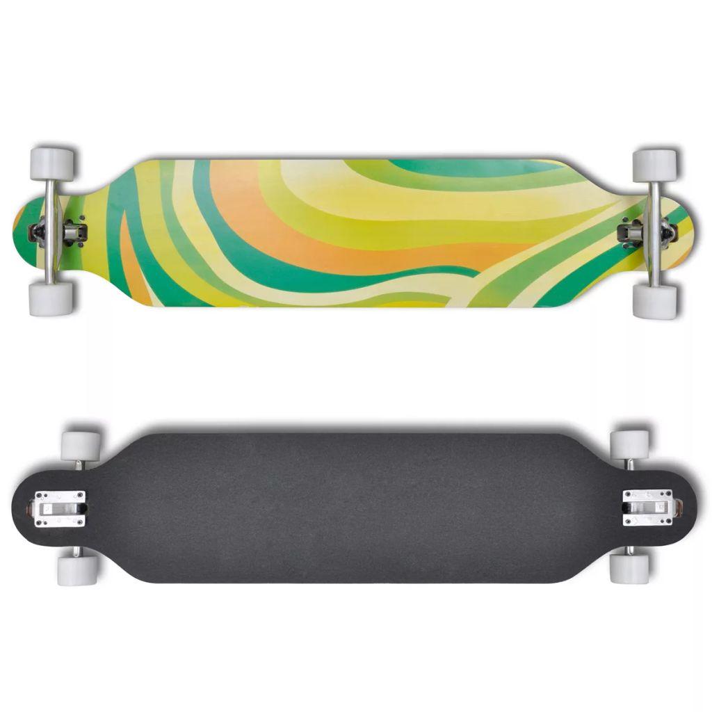 Skateboard 107 cm Green