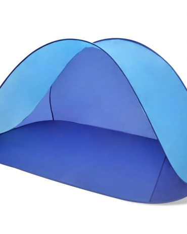 Beach Tent Outdoor Foldable Water Proof Sun Shade Light Blue