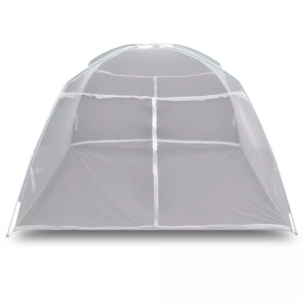 Mongolia Net Mosquito Net 2 Doors 200 x 120 x 130 cm White