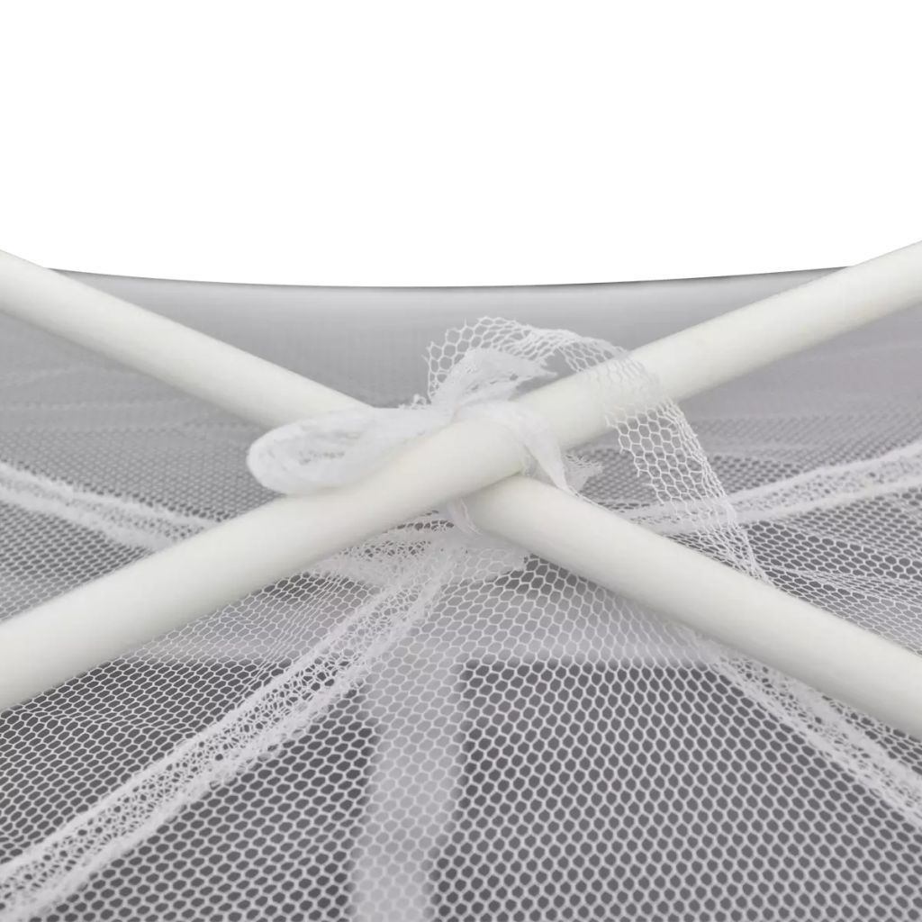 Mongolia Net Mosquito Net 2 Doors 200 x 180 x 150 cm White