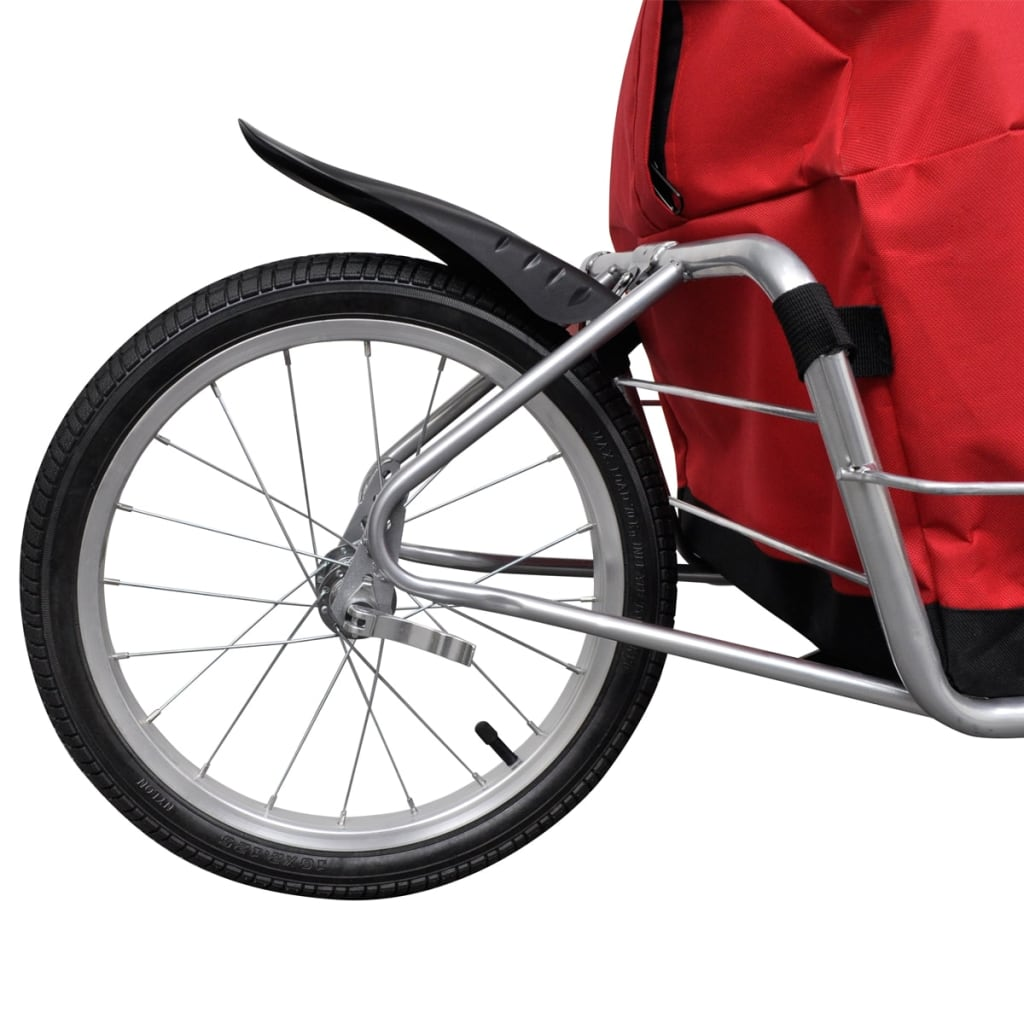 Bicycle Cargo Trailer One-wheel with Storage Bag