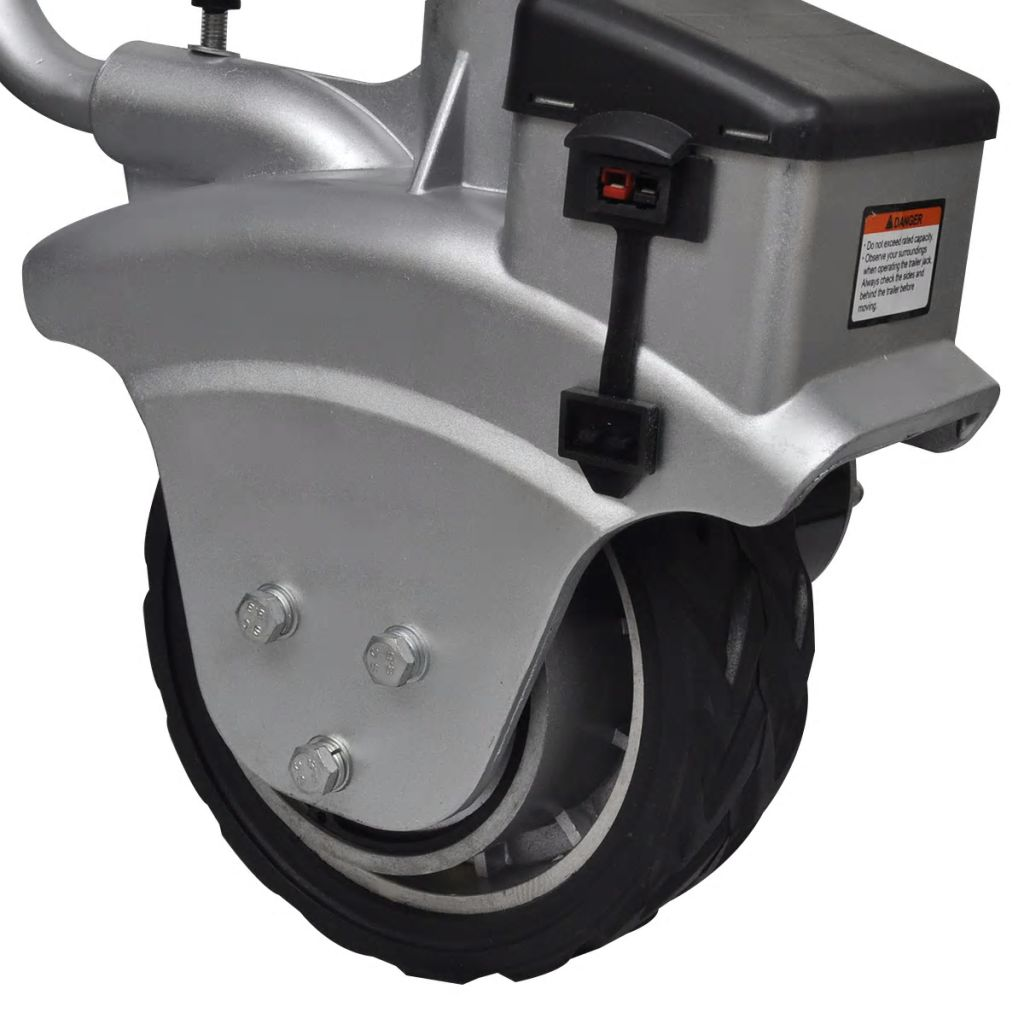 Aluminium Motorised Jockey Wheel Trailer Mover 12 V 350 W
