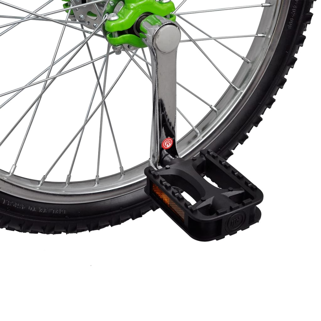 Green Adjustable Unicycle 20 Inch