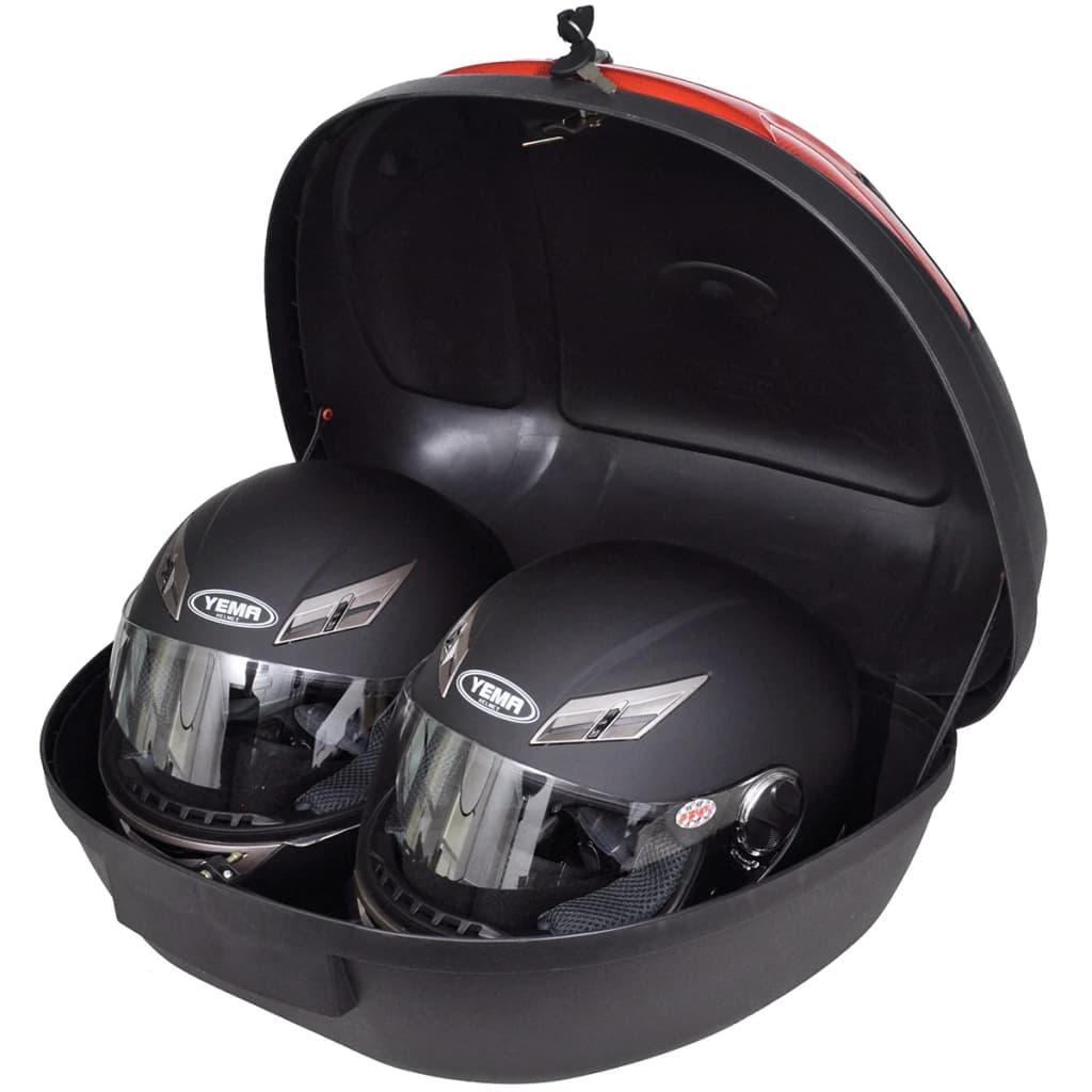 Motorbike Top Case 72 L for 2 Helmet