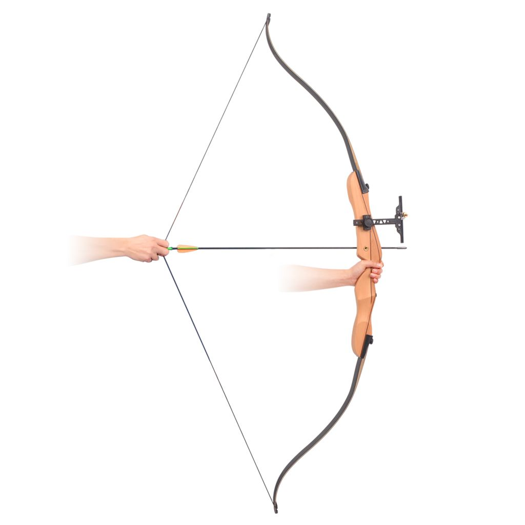 "Adult Recurve Bow 68"" 32 lb"