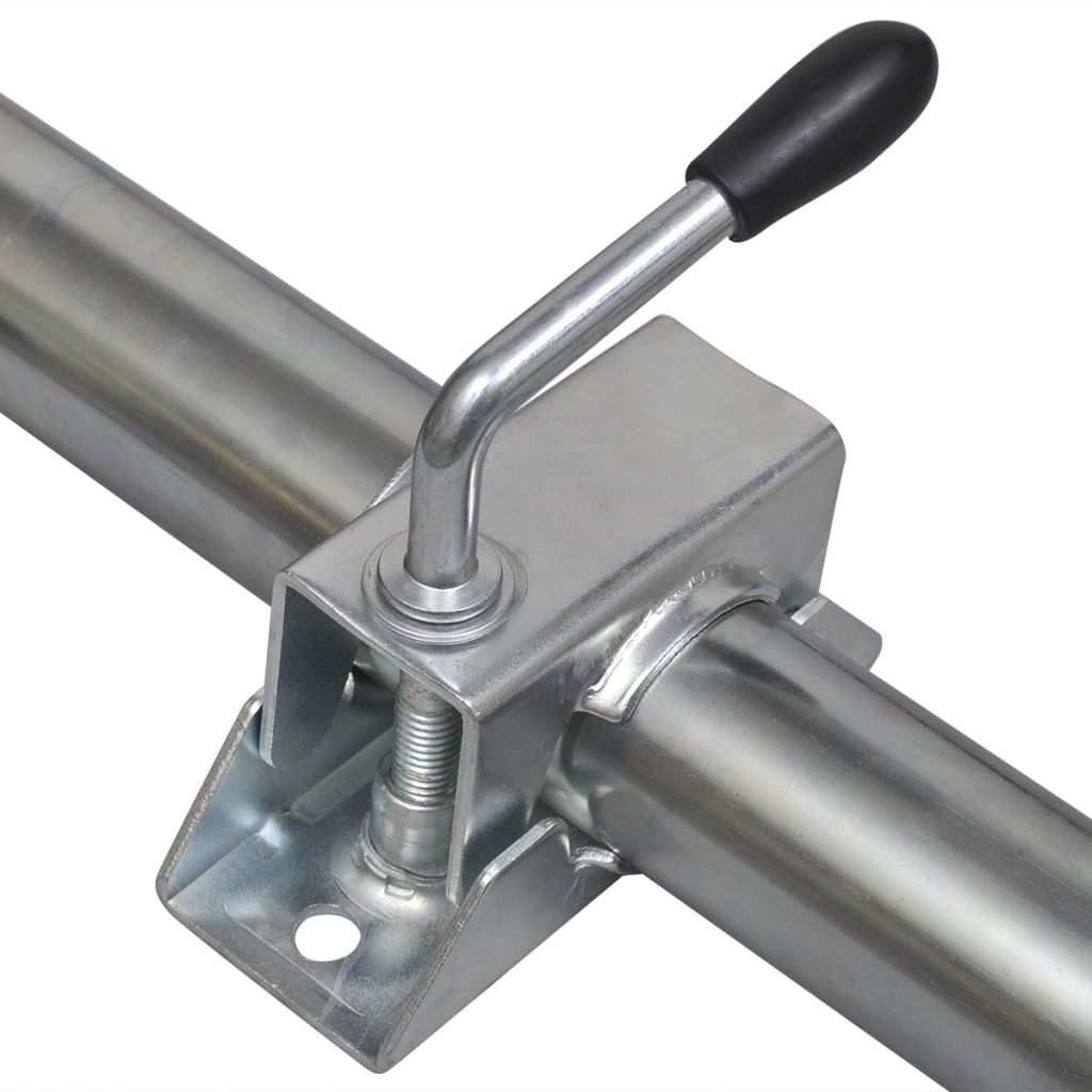 2 Support Tubes with 2 Split Clamps for 48 mm Jockey Wheel