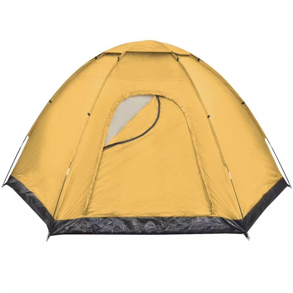 6-person Tent Yellow