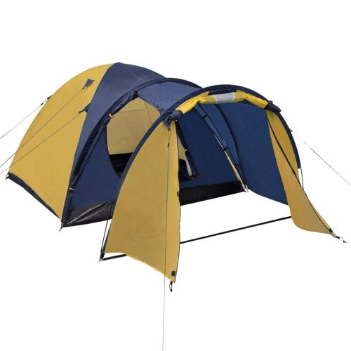 4-person Tent Yellow