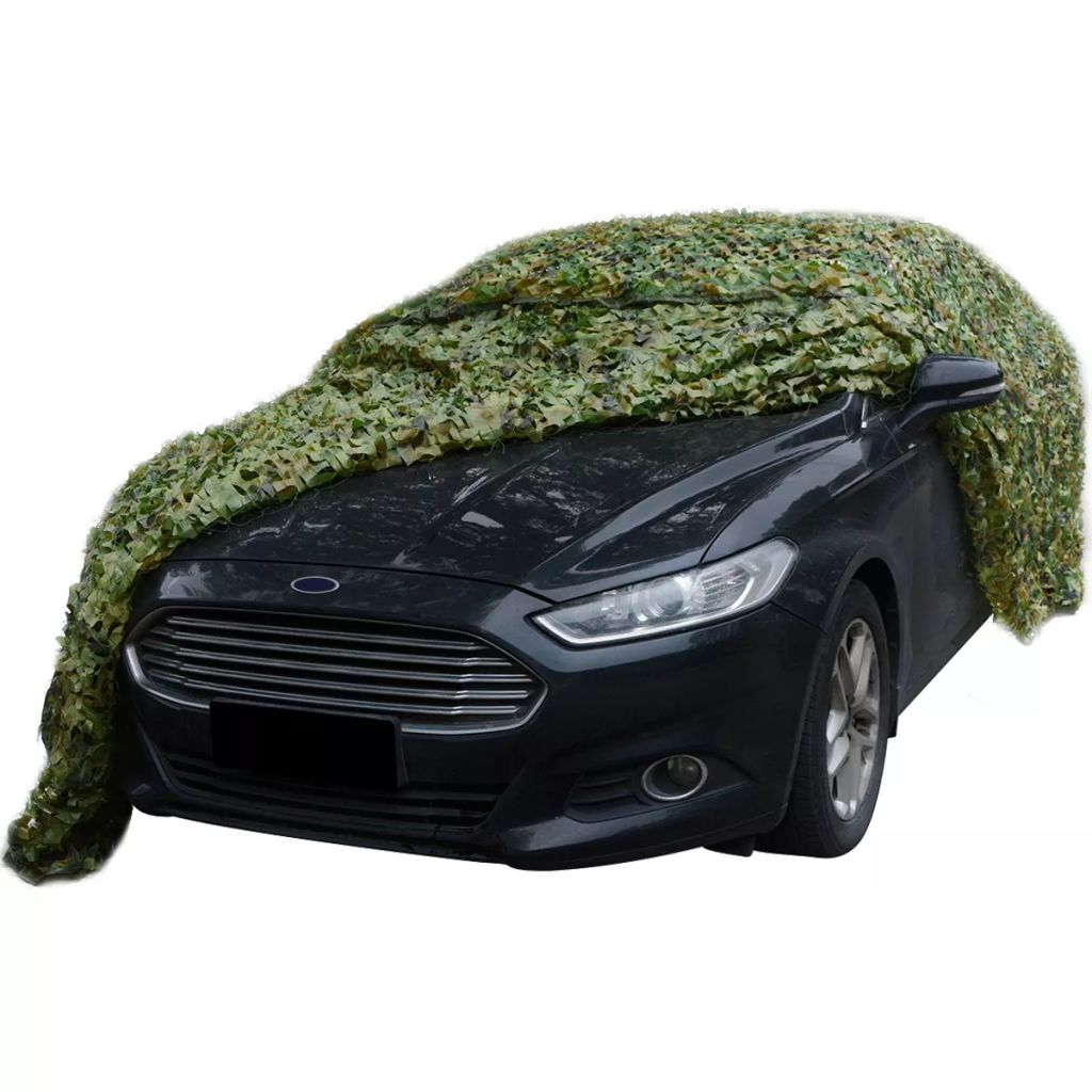Camouflage Net with Storage Bag 1.5x4 m