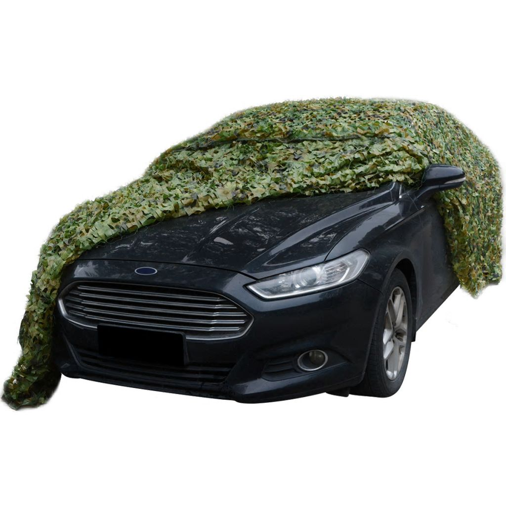 Camouflage Net with Storage Bag 3x3 m