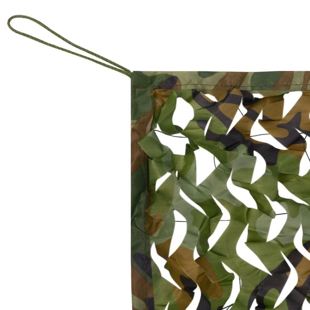 Camouflage Net with Storage Bag 3x3 m