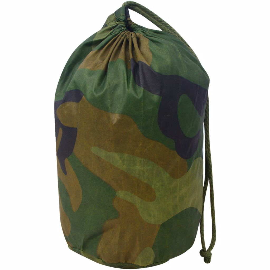 Camouflage Net with Storage Bag 4x6 m