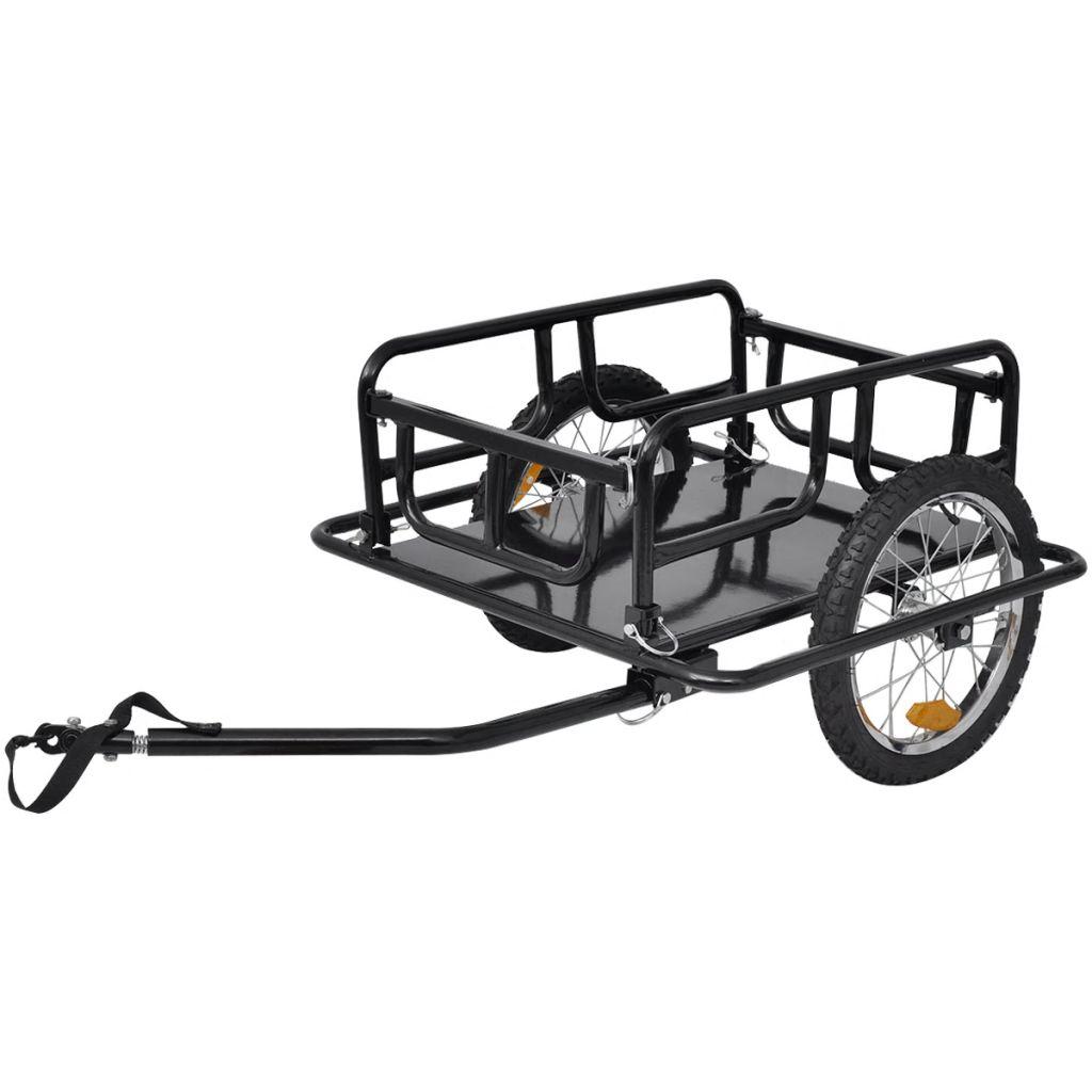 Bike Cargo Trailer Black 50 kg