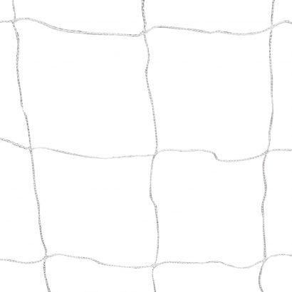 Football Goal Nets Steel 2 pcs 240x90x150 cm