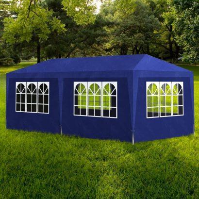 Party Tent 3x6 m Blue