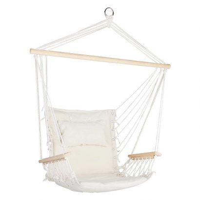 Gardeon Hammock Hanging Swing Chair - Cream