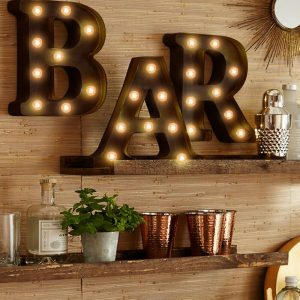 LED Metal Letters & Numbers